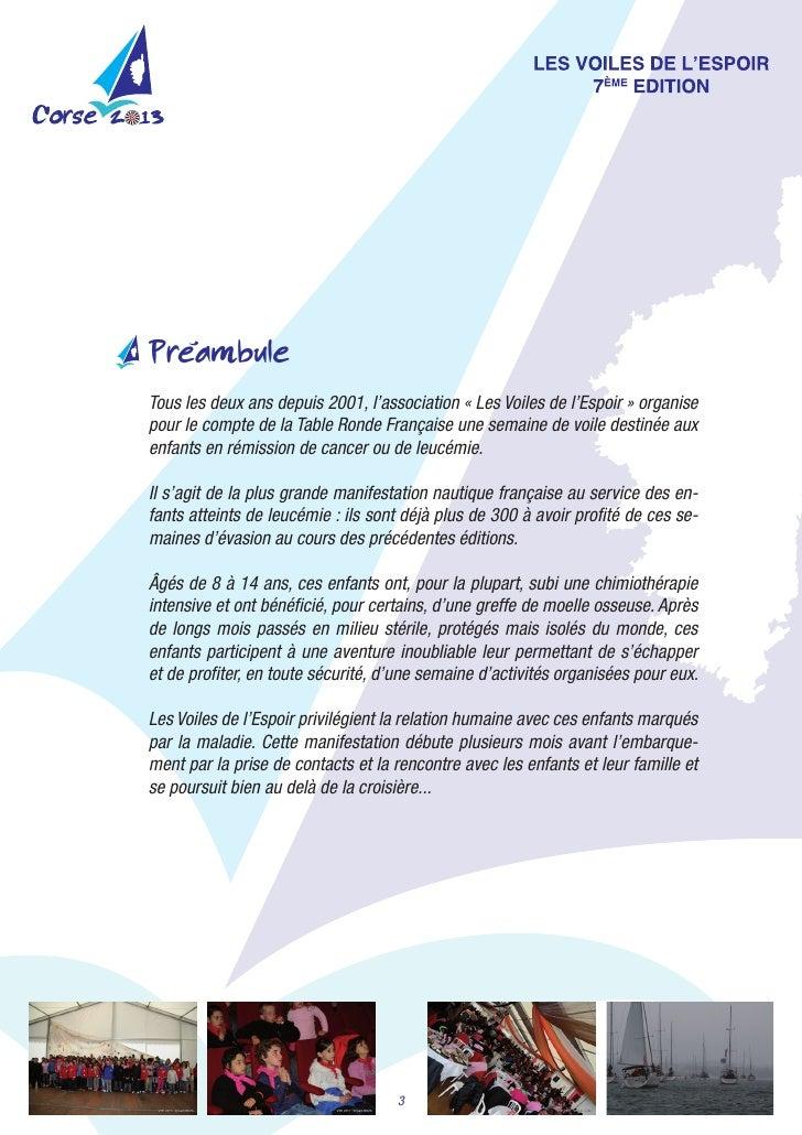 'PreambuleTouslesdeuxansdepuis2001,l'association«LesVoilesdel'Espoir»organisepourlecomptedelaTableRond...