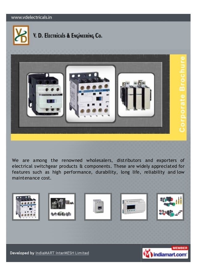 We are among the renowned wholesalers, distributors and exporters ofelectrical switchgear products & components. These are...