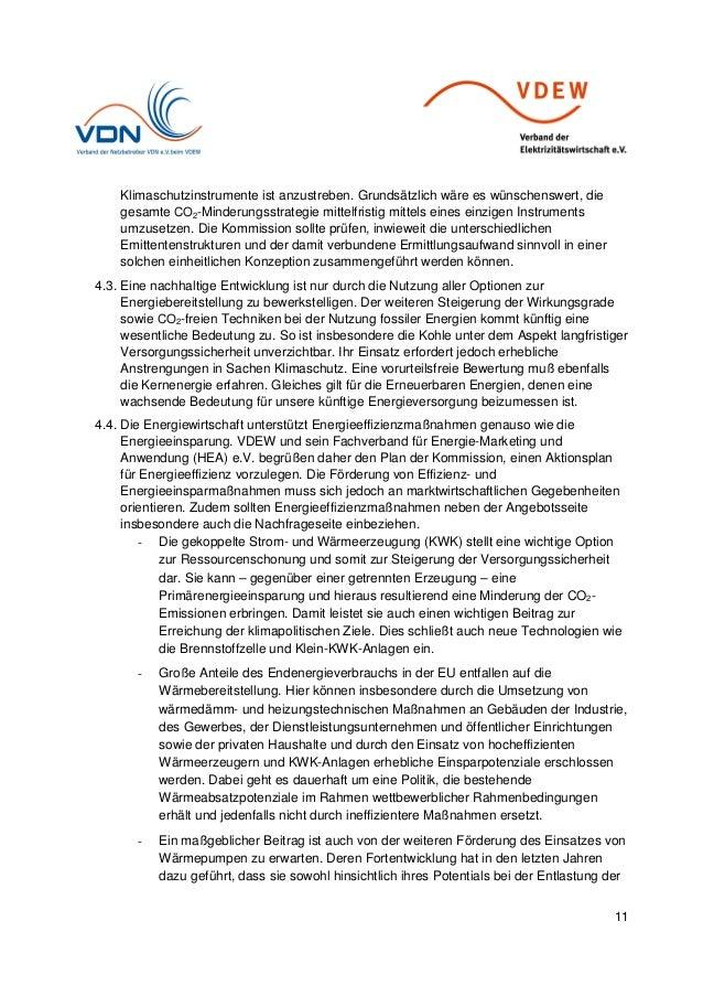 11 Klimaschutzinstrumente ist anzustreben. Grundsätzlich wäre es wünschenswert, die gesamte CO2-Minderungsstrategie mittel...