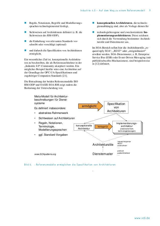 Industrie 4.0 Referenzmodell 2014