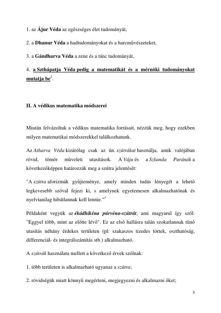 Védikus Matematika - Szthápatja Véda Slide 3