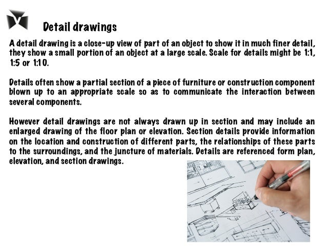 A detail drawing is a close-up view of part of an object to show it in much finer detail, they show a small portion of an ...