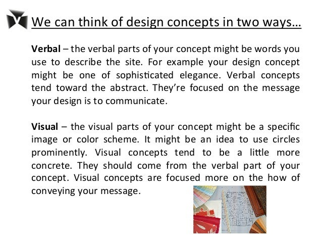 How to write a fashion design concept statement