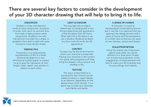 VDIS10019 2D & 3D Graphic Design - Basic Software Skills for 3D Rende…