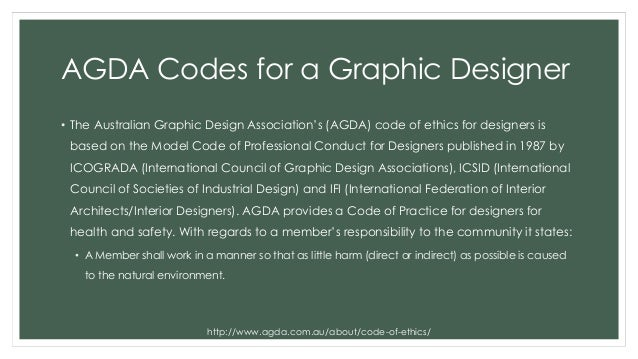 6 AGDA Codes For A Graphic Designer