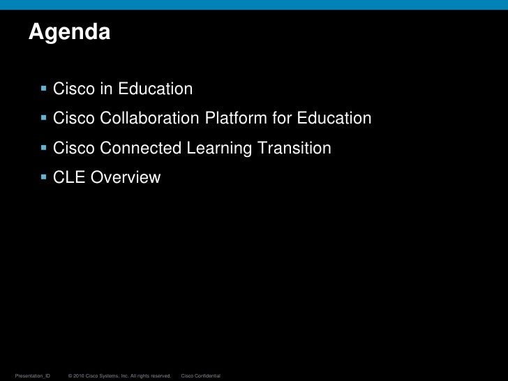 Cisco Connected Learning Technology Slide 2