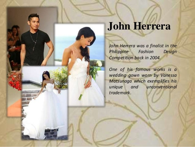 Get to Know the Five Most Famous Wedding Gown Designers in the Philip…