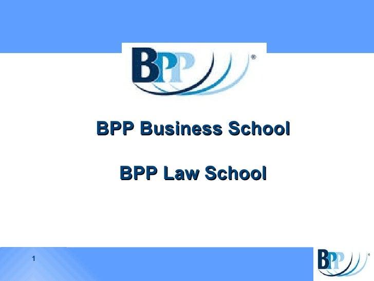 BPP  Business School BPP Law School