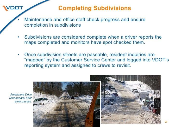 snow summit  virginia department of transportation
