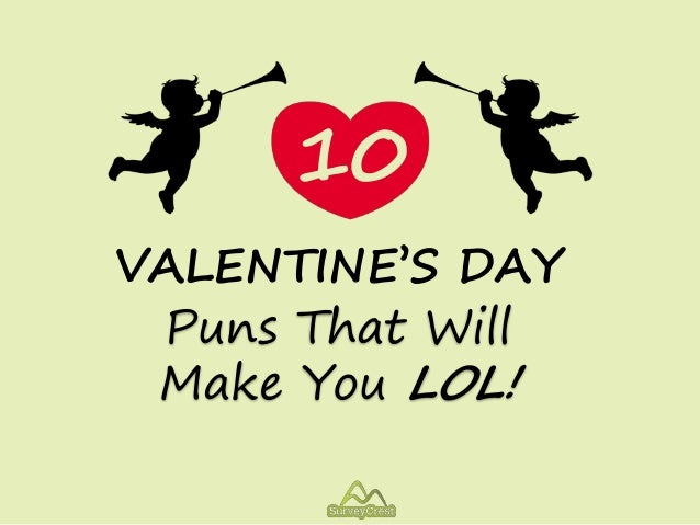 10 Valentine S Day Puns That Will Make You Lol