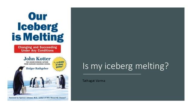 Is my iceberg melting? Tathagat Varma
