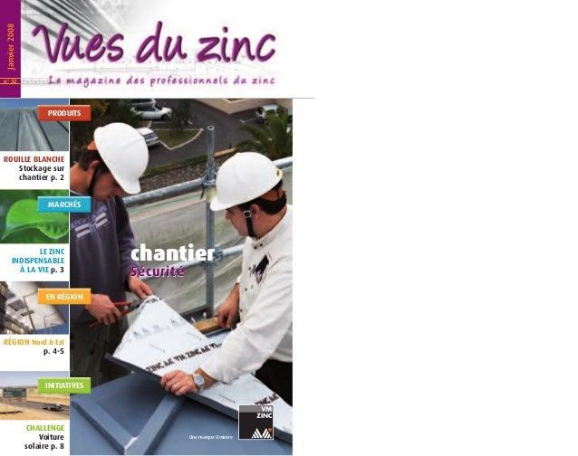 Vues du Zinc n° 32 - janvier 2008