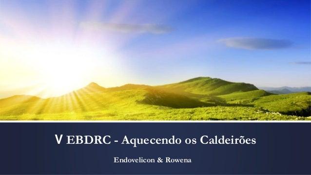 V EBDRC - Aquecendo os Caldeirões Endovelicon & Rowena