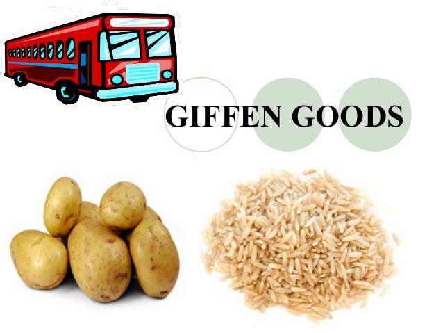 giffen goods example