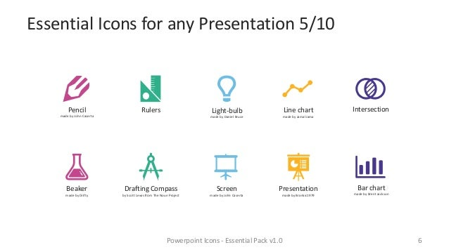 Powerpoint Icons - Essential Pack