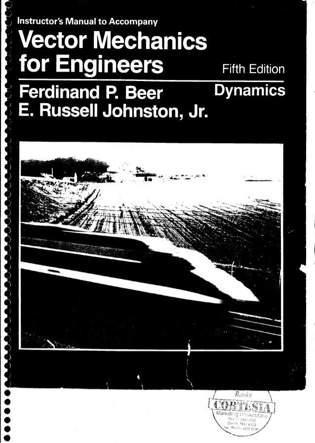 Mecânica Vetorial Para Engenheiros ( Solucionário Dinâmica )