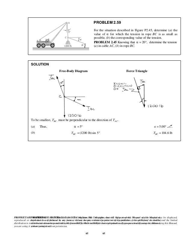 Vector Mechanics For Engineers Statics 10th Edition Ebook