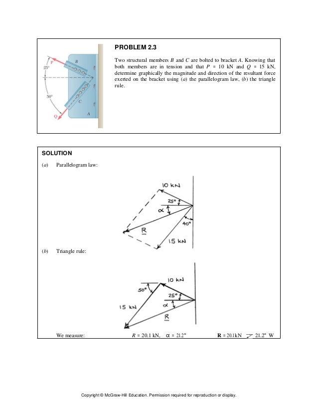 vector mechanics for engineers statics and dynamics 11th edition beer rh slideshare net statics and dynamics solutions manual statics and dynamics solution manual