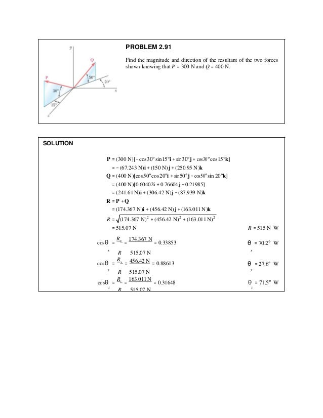 vector mechanics for engineers statics 11th edition solutions manual pdf