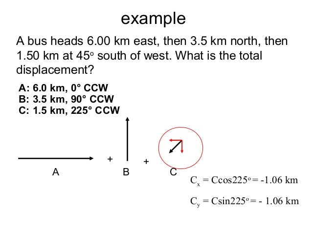 Motion In 2 Dimensions Homework 101 - image 6