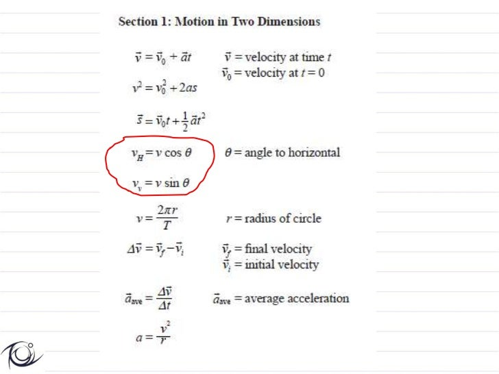 Vectors And Projectile Motion And Worked Examples
