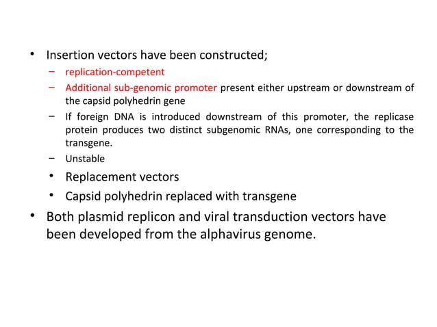 6. Herpesvirus Vectors • • • • • • •  The herpesviruses are large dsDNA viruses; Epstein–Barr virus (EBV) and the herpes s...