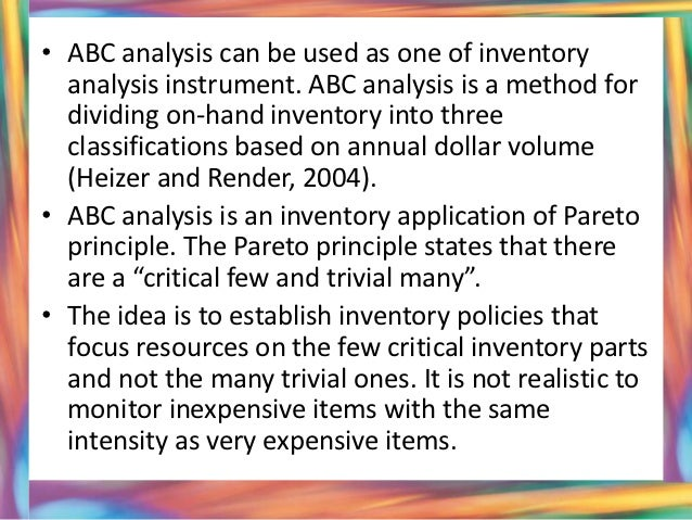ved analysis Spares parts management  ved analysis – this type of classification is based on the criticality of the spare parts criticality of a spare part can be .