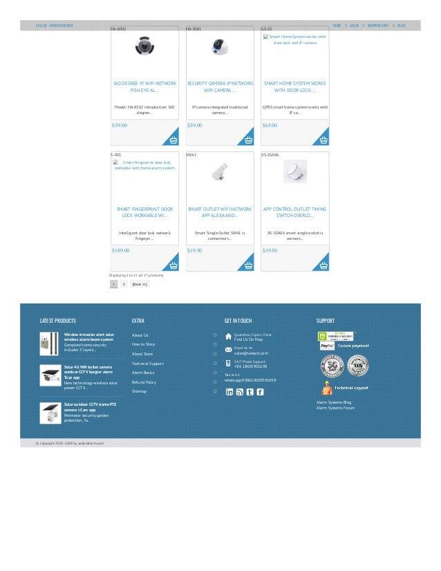 Vedardalarm.com smart home device Slide 2