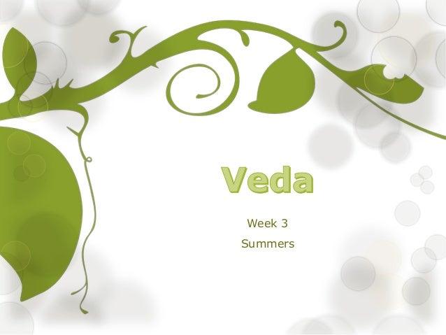 Week 3 Summers