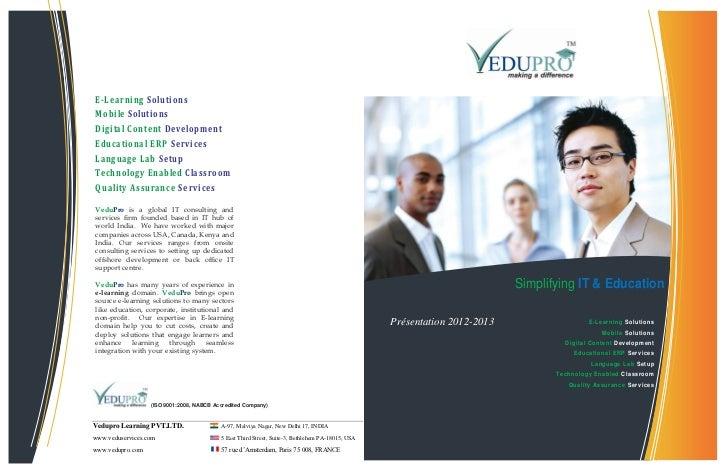 E-Learning SolutionsMobile SolutionsDigital Content DevelopmentEducational ERP ServicesLanguage Lab SetupTechnology Enable...