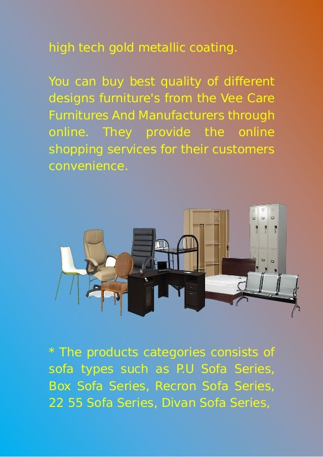 Vee Care Furniture And Manufacturer   Best Online Furniture Store In Chennai