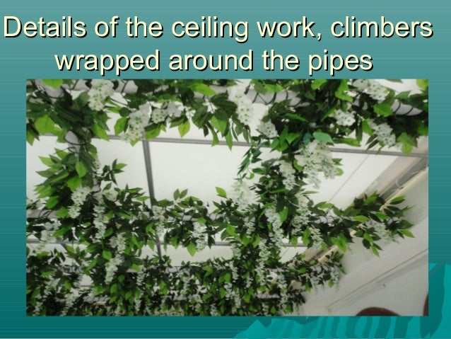 Veena Artificial Plants In Interior Design