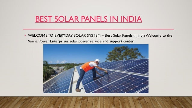 Veena Power – Energy is Future, Make it Bright Solar Panel