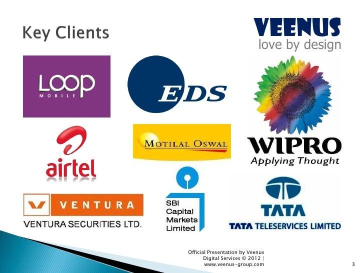 Veenus Group - Corporate Dossier (June 2012) Slide 3