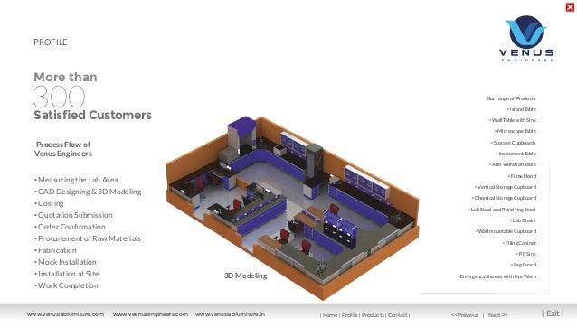 Venus Engineers, Coimbatore, Laboratory Tables Slide 3