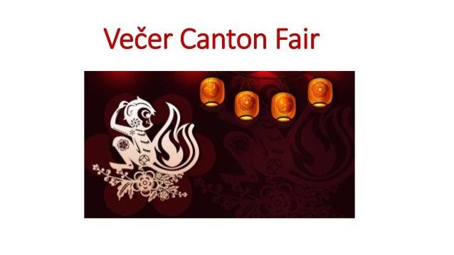 Večer Canton Fair