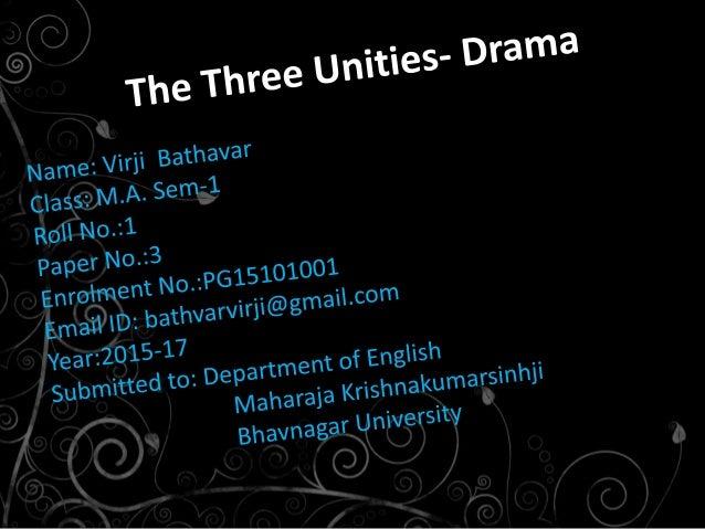 three unities in macbeth