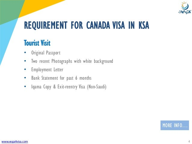 Visa Requirements Saudi Arabia To Canada Tourist Visit