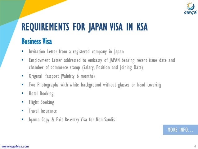 how to get business visa in japan
