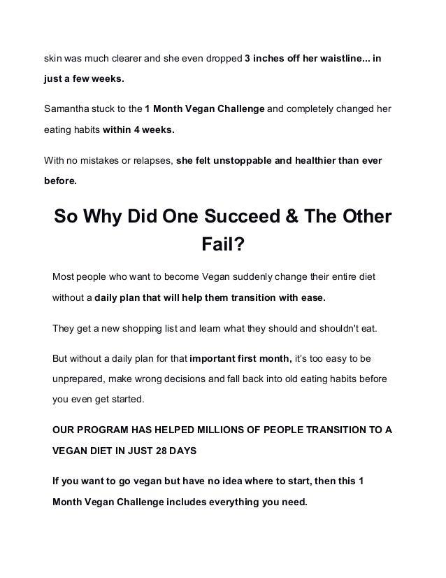 Vegan diet, Slide 2