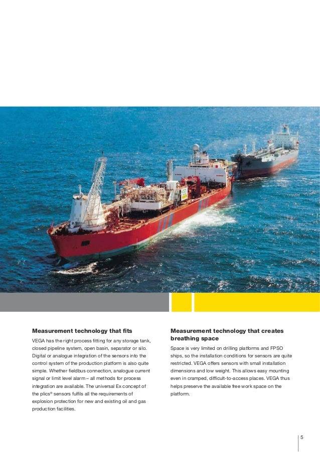 Vega Pressure Amp Level Measurement Oil And Gas Offshore