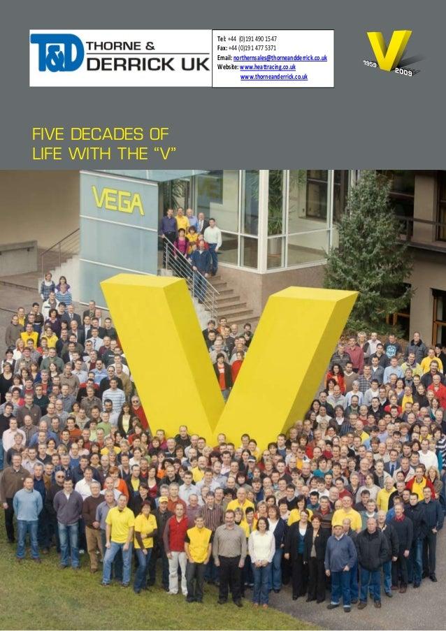Vega Pressure Measurment Level Measurement - Brochure