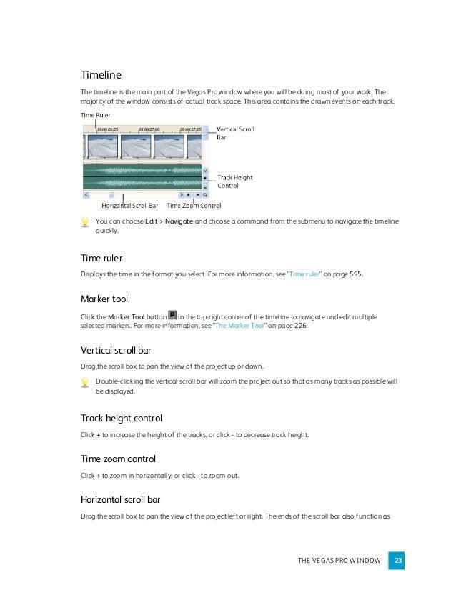 Manual de sony vegas pro 9. 0. Pdf.