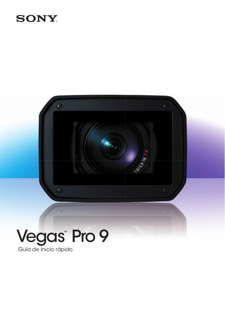 Vegas Pro 9                 ™Guía de inicio rápido