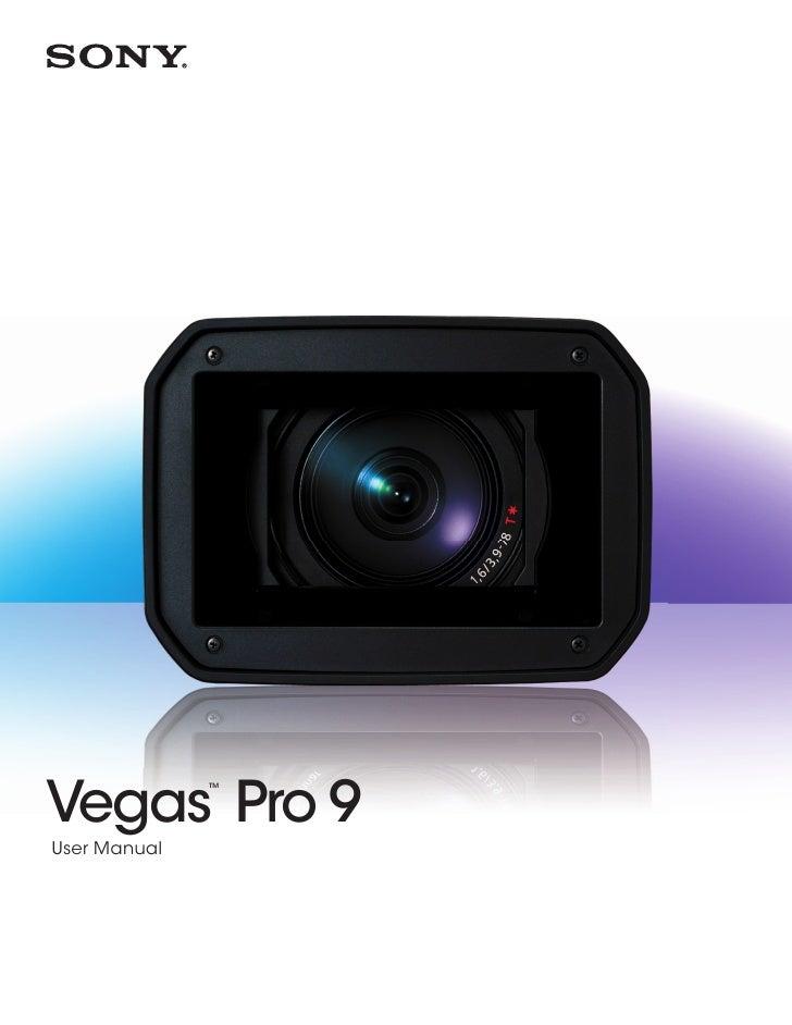 Vegas Pro 9                ™     User Manual