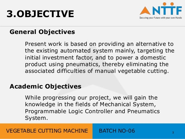 what are academic objectives