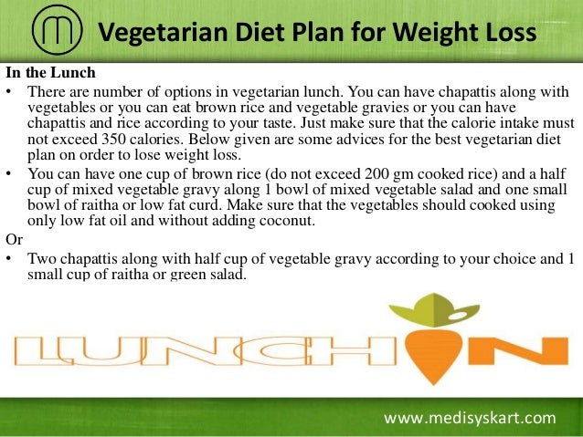 veg diet chart for weight loss for female: Vegetarian diet plan for weight loss