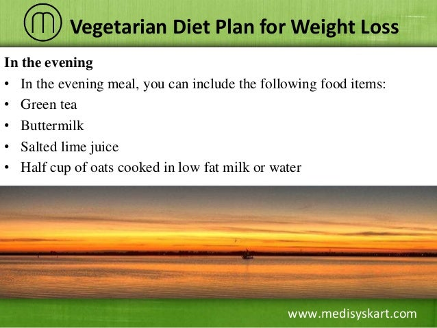 Proper Diet Chart For Weight Loss India