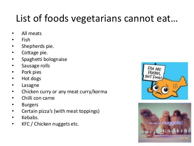 list of foods vegans can and t eat food