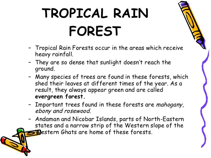 different types of forest found in india